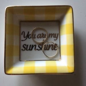 "Draper James Accents - Draper James ""You Are My Sunshine"" Tray"